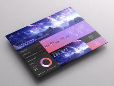 SJQHUB™ Visual Data UI dashboard on Behance