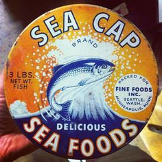 Sea Cap #tin #illustration #typography