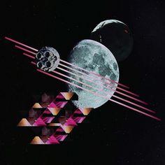 illustration - carolina bagulho #illustration #collage #space
