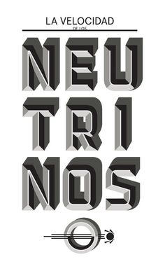 Typography(3D Type, via typeverything) #graphic #typography