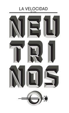 Typography(3D Type, viatypeverything)