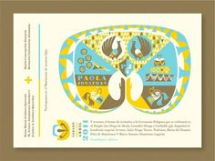 FFFFOUND! | design work life » Javier Garcia Design: Wedding Invitation #graphics