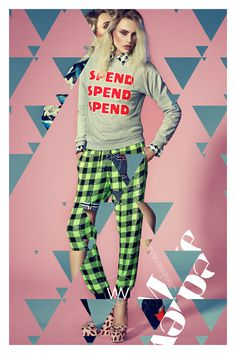 Mixed Medley #fashion #photography #poster #typography