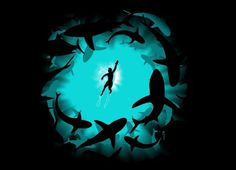 """""""The Deep"""" Threadless.com Best t shirts in the world #illustration"""