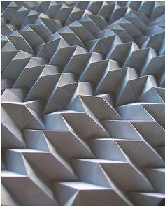 WHITE #pattern #oragami #geometric #texture