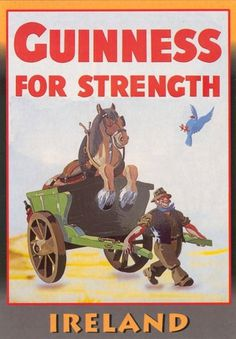 Guinness for Strength posters | David Airey, graphic designer #vintage #poster