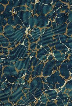 BibliOdyssey: Marbled Paper Designs #19th #bibliodyssey #pattern #marbling #paper