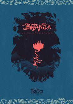 Botanica © Nicolas Galkowski #illustration #design #graphic #book