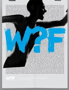 The Why Foundation Logo and Identity #foundation #logo #why #cancer