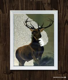 Big Foot Inspired Art Show Posters/Prints by Office   Allan Peters' Blog #bigfoot #art