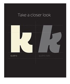 we love typography. a place to bookmark and savour quality type-related images and quotes #type