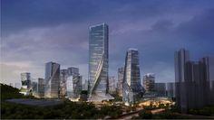 Yabao Hi-Tech Enterprises Headquarter Park on the Behance Network #yabao #design #architecture #10