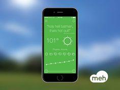 Meh Weather App