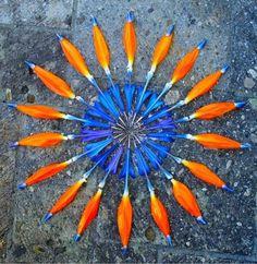 simple things #flower #mirror