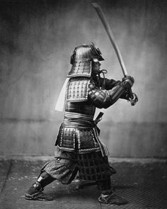 Samurai_with_sword.jpg 1.275×1.600 pixels #old #white #martial #war #black #art #and #samurai #1600