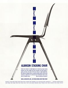 All sizes | Knoll Ad 1965 | Flickr - Photo Sharing! #chairs