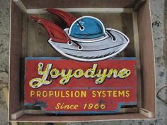 YoYoDyne on the Behance Network #retro #space #vintage #aliens #ufo #neon