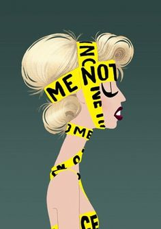 Gaga-Licious | thaeger - blog this way #illustrations