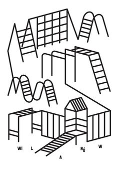 nowa warszawa nowy teatr : portfolio #forms #illustration #vector #playground