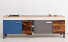 campsite #vase #cabinet #wood #furniture #minimal #blue