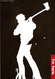 fukuda poster 6 #optical #shigeo #fukuda #illustion #poster #masterworks