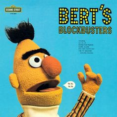 Muppet Music (superseventies: Bert's Blockbusters!...) #music #cover #vinyl #sesame steet