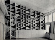 szakall:tellthetruthhomie:sonofmyfather:eric h olsen #interior #wall #geometry