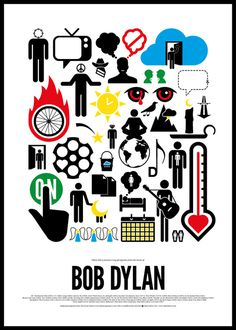 Pictogram rock posters #pictogram #poster