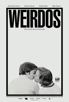 US one sheet for WEIRDOS (Bruce McDonald, Canada, 2016)