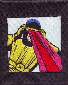 Cyclops - Jared Brown #embroidery