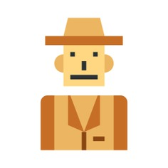 See more icon inspiration related to professions and jobs, tour, safari, journey, trip, guide, user, avatar, man, person and people on Flaticon.