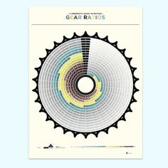 The Office of Ven Gist » Chromatic Guide to Gear Ratios #infographic