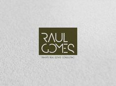 RAUL GOMES #logotype #visual #branding #stationary #design #graphic #corporate #brand #identity #stationery #logo #logotipo
