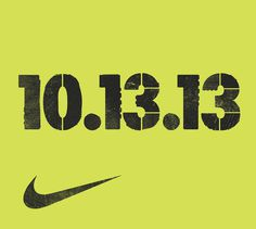 Nike Chicago Marathon Last October I got work on some artwork with the fine folks at Nike for the 2013 Chicago Marathon. They did an amazing #nike #typography