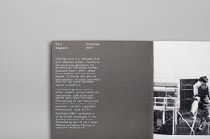 Marcus Hollands #print #look #book #grid #typography