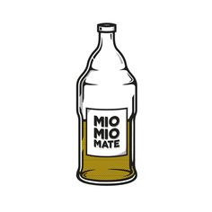 Illustration | 'Mio Mio Mate' #illustration #mio #mate #icon #design