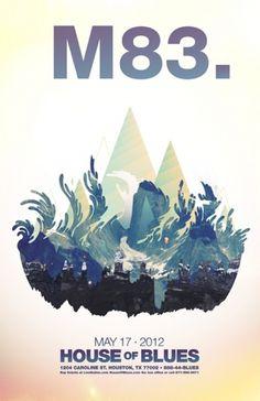 Eli Sebastian Brumbaugh #design #graphic #illustration #poster #concert