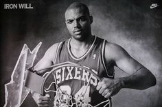 charles_barkley_bill_sumner #barkley #philly #classic #sixers #nike #vintage #poster #sport #charles