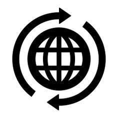 See more icon inspiration related to world, worldwide, internet, seo and web, earth globe, wireless internet, earth grid, globe grid, interface, multimedia and signs on Flaticon.