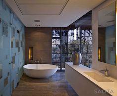 Cozy Seaside Retreat by Antoni Associates - #decor, #interior, #homedecor, #bathroom