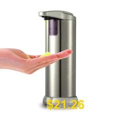 Smart #Automatic #Infrared #Sensor #Stainless #Steel #Liquid #Soap #Dispenser #- #CHAMPAGNE #GOLD