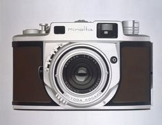 williamfisk vintage 6 #camera #minolta #painting #realism