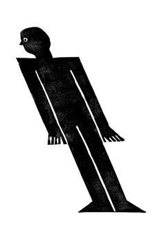 Nous Vous: Lino cut illustration by Nicolas #cut #illustration #lino