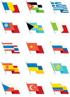 World Flags, by Always With Honor