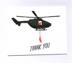 greeting cards : ASHKAHN Studio + Company #red #you #card #black #thank
