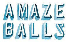 Amazeballs - Hello Jon - Illustration & Hand Drawn Type