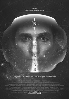 Interstellar #inspiration #creative #movie #interstellar #print #design #space #unique #poster #film