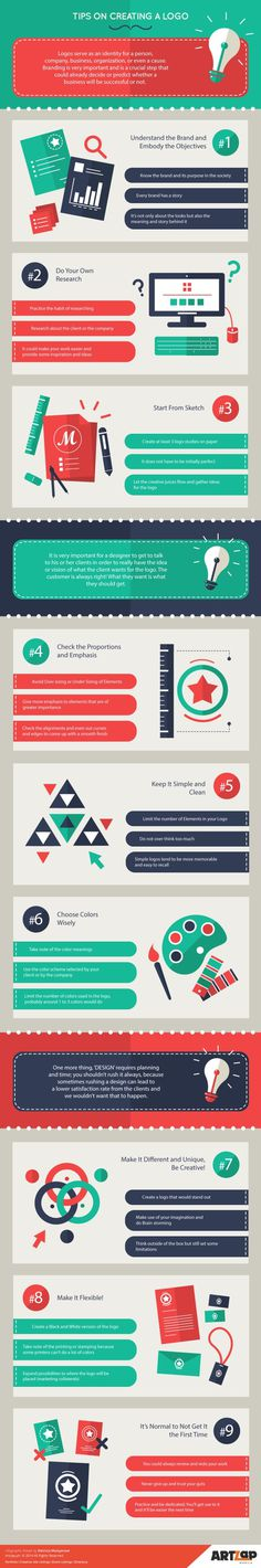 9 Tips on Creating a Logo