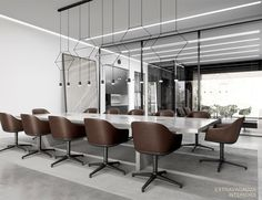 Glazed Office by Extravagauza Interiors - InteriorZine