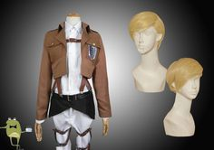 Erwin Smith Attack on Titan Recon Corps Cosplay Costume #corps #costume #recon